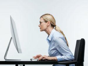 dame ser på skjerm